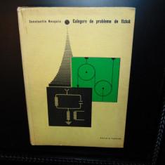 CULEGERE DE PROBLEME DE FIZICA -CONSTANTIN NECSOIU ANUL 1968