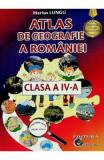 Atlas de geografie a Romaniei - Clasa 4 - Marius Lungu