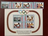 Samoa - Timbre sport, jocurile olimpice 1984, nestampilate MNH, Nestampilat