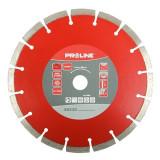 Disc diamantat segmentat laser Proline, universal, 180 mm