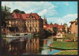 GERMANIA - BAMBERG - WASSERSCHLOSS CONCORDIA - CP CIRCULATA #colectosfera