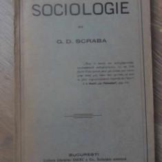 SOCIOLOGIE - G.D. SCRABA