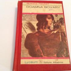 FLAUBERT DOAMNA BOVARY--LEGATA--RF15/3