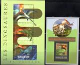 GUINEEA 2013, Fauna, Dinozauri, serie neuzata, MNH