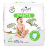 Scutece-chilotel Happy Pants Maxi, Nr.4, 8-14 kg, 24 buc