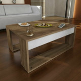 Masa pentru cafea Furny Home, 756FRN2805, pal melaminat, 80 x 35 x 60 cm