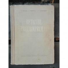 V. Nicolau - Betonul precomprimat