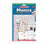 Cumpara ieftin Joc educativ magnetic Fonetica cu imagini si cuvinte Phonics