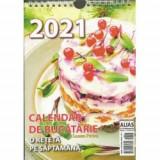 Calendar de bucatarie 2021 - 53+1 file (retete)