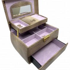Cutie bijuterii Precious Nude Croco