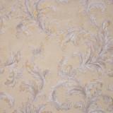 Cumpara ieftin Tapet clasic, frunze, crem, auriu, argintiu, dormitor, lavabil, 57901