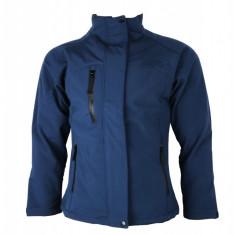 Jacheta antivant de toamna Reflects, pentru femei, Bleumarin