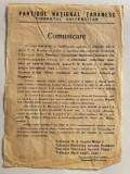 MANIFEST AL  PARTIDULUI  NATIONAL  TARANESC din Februarie 1945