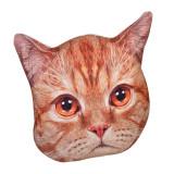Perna decorativa Cat, 36 x 40 cm, forma pisica, General