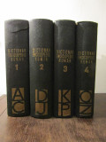 DICTIONAR ENCICLOPEDIC ROMAN 4 VOLUME, Nemira