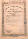 100 Reichsmark titlu de stat Germania 1937