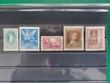 Timbre Ungaria 1923, serie completa neuzata, Nestampilat