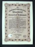 Titlu De Stat Obligatiune Germania 1940-1000-Reichsmark