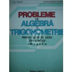 Probleme de algebra si trigonometrie clasele a IX a si a X a