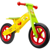 Bicicleta fara pedale din lemn, Winnie the pooh
