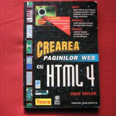 CREAREA PAGINILOR WEB CU HTML 4 - DAVE TAYLOR