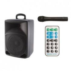 Boxa activa Sal Bluetooth 120W cu acumulator Microfon si Telecomanda