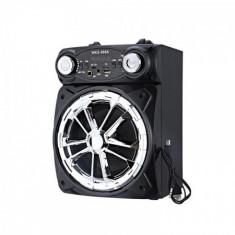 Boxa portabila bluetooth ,karaoke , radio, mp3 ,WKS-968 + microfon