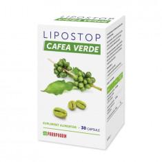 Lipostop Cafea Verde, 30 cps, Parapharm
