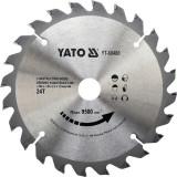 Disc circular lemn, 160 x 20 x 2.2 mm, 24 Yato YT-60480