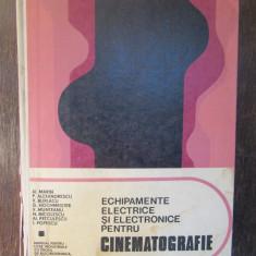 ECHIPAMENTE ELECTRICE SI ELECTRONICE PENTRU CINEMATOGRAFIE-AL.MARIN
