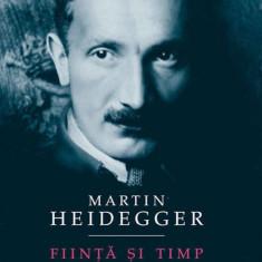Fiinta si Timp - de Martin Heidegger