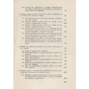Pugna, I. s. a. - RELATIA OM-MASINA-MEDIU IN ORGANIZAREA LOCULUI DE MUNCA, 1979