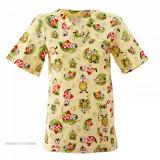 Bluza medicală simplă – Print Buburuze