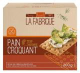 Paine crocanta cu teff, 200 g La Fabrique