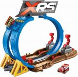 Set de joaca Disney Cars XRS, Provocarea de pe pista cu noroi
