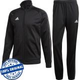 Trening Adidas Core pentru barbati - trening original - pantaloni conici, M, S, Negru, Poliester