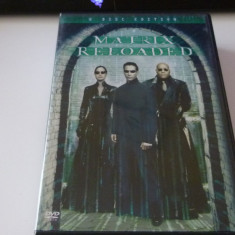 Matrix reloaded  - dvd, Engleza