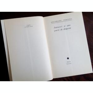 GHEORGHE TOMOZEI - PATRUZECI SI SASE POEZII DE DRAGOSTE (editia princeps, 1967)