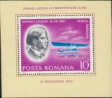 1978 Romania,LP 973- Pionieri ai aviatiei,colita-MNH, Aviatie, Nestampilat
