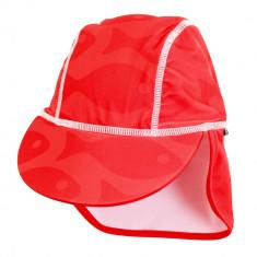 Sapca Fish red 4- 8 ani protectie UV Swimpy for Your BabyKids