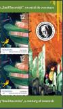 Romania 2020 SPEOLOGIE- EMIL RACOVIȚĂ- serie 4 Tb x2 cu bordura ilustrata MNH**