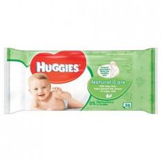 Servetele umede Huggies Natural Care 56 buc