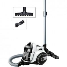 Aspirator fara sac Cleann'n BGS05A222, 1.5 l, tub telescopic, 2 accesorii, clasa A, alb