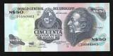 Uruguay 50 Nuevos Pesos  1987 -UNC