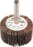 Perie abraziva circular cu tija 40x20x6 mm granulatie 60 YATO