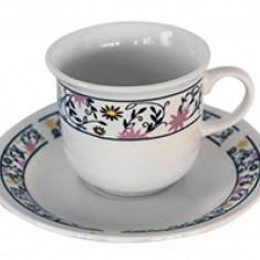 Set cesti cafea si ceai din portelan MN015602 Raki
