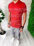 Tricou slim fit polo -  tricou barbati - tricou fashion - A5369