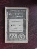 CREDITORII - SACHER MASOCH