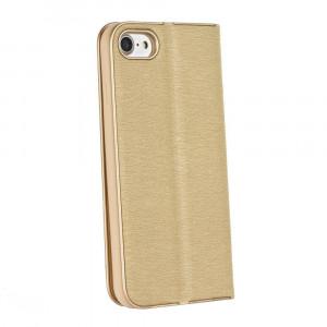 Husa Forcell Luna Book Samsung Galaxy S10 Gold