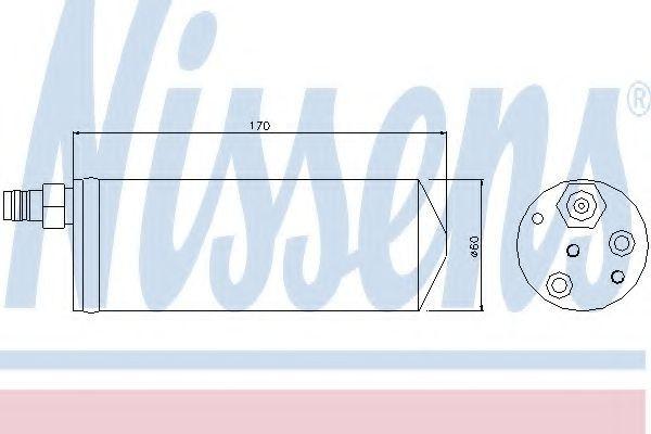 Filtru uscator clima / aer conditionat NISSAN INTERSTAR caroserie (X70) (2002 - 2016) NISSENS 95363